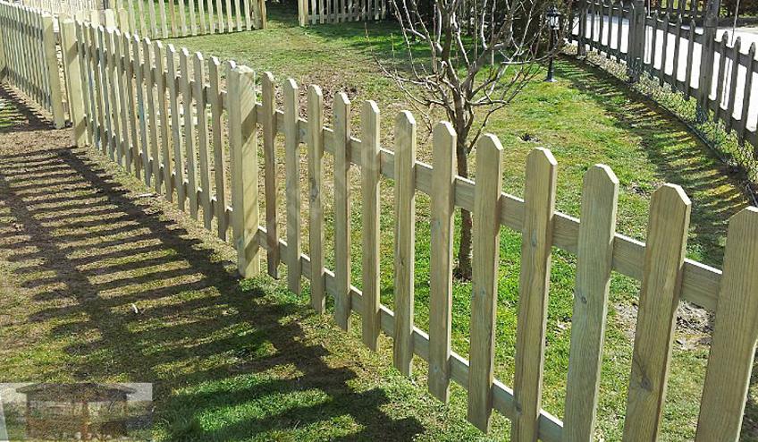 Ahşap çit izmir